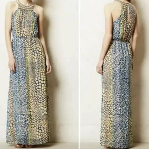 New Sz 4P Anthropologie HD in Paris Maxi Dress